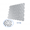 WY型网形钛板