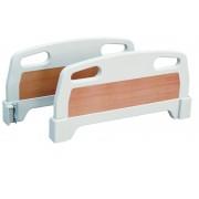 JH-B4 ABS皮纹挂钩式床头板(白色)