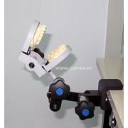 三关节台面固定式牙模夹具