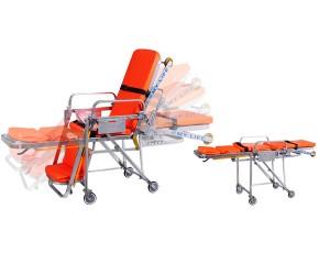 轮椅式自动上车担架