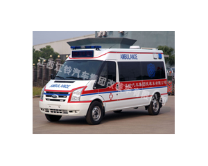 新世代长轴中顶监护型救护车