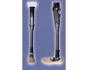 膝离断碳线四连杆液压跪腿膝万向储能脚(KD)
