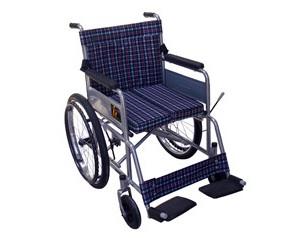 jr-03 可折叠,可靠背全躺,携带方便,钢管喷塑轮椅