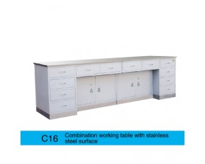 C16 不锈钢座面组合工作台