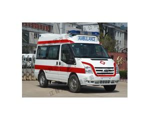 新世代全顺短轴福星II型救护车