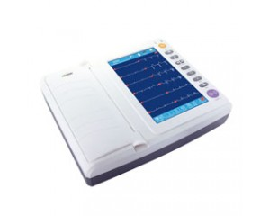 彩屏十二道心电图机ECG-8122