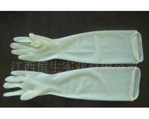 妇科妇产科乳胶手套--加长型