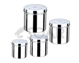 不锈钢防碘伏药膏缸