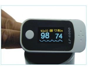 LF6000H+指夹式脉搏血氧仪