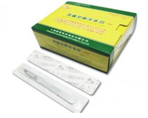 无菌塑柄手术刀