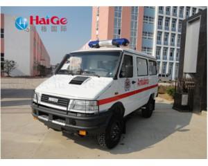 依维柯越野型救护车
