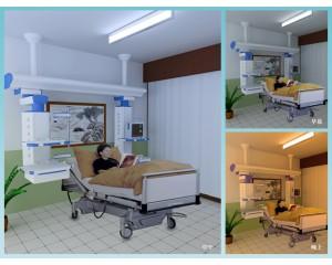 ICU重症监护病房医疗照明系统