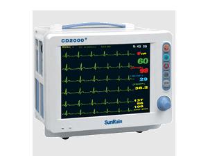 CD2000系列便携式彩色多参数监护仪