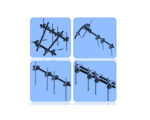 FQ型组合式固定架