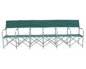 铝合金折叠长椅