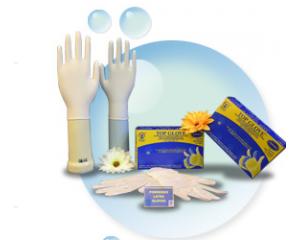 有粉乳胶检验手套