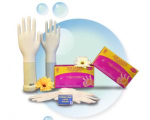 无粉乳胶检验手套