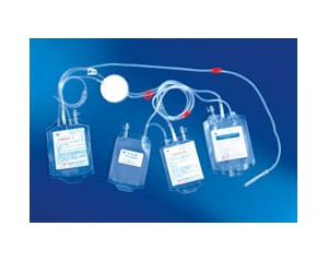 一次性使用去白细胞采输血器