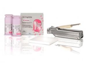GC Fuji Cem-而至双膏剂树脂加强型玻璃离子水门汀粘固剂