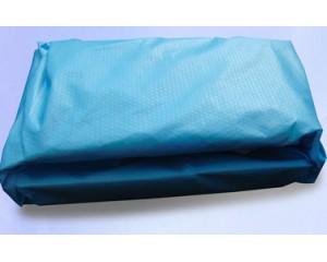 蓝色菱形纹淋膜纸包布