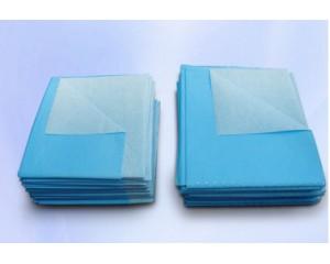 蓝色菱形纹淋膜纸手术铺单