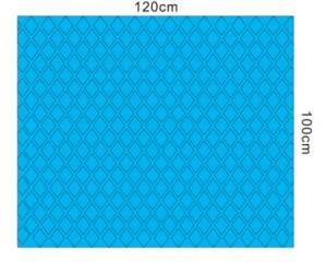 蓝色菱形淋膜纸手术铺单