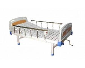PE床头铝合金护栏单摇床