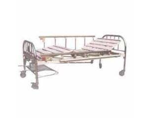 不锈钢床头、铝合金护栏、移动双摇床