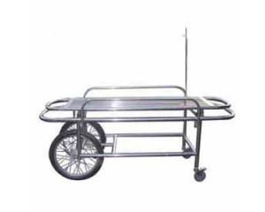 不锈钢双活门摩托车轮担架车