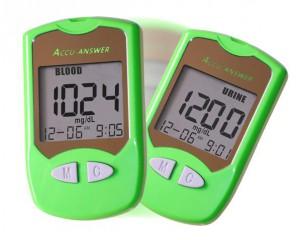双参数血糖尿糖检测仪