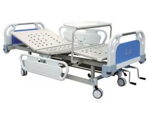 BS床头带翻转餐桌移动双摇床