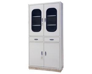 不锈钢座四门两屉器械柜