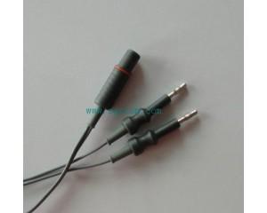 内窥镜双极电凝线 腹腔镜双极连接线 电凝钳连接线