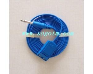 负极板线 电刀负极板连接线 贝林、优美高、威力电刀导线 圆头6.3