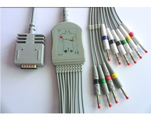 Burdick伯迪克心电图机导联线-ZOLL心电图机导联线