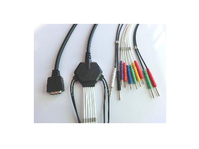 光电6511十导心电图机线