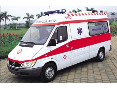 奔驰凌特Sprinter214经典款监护型救护车