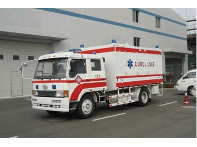 应急医疗物资救护保障车