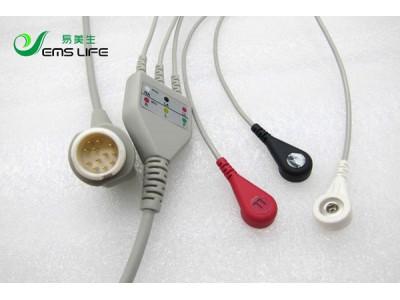 迈瑞T5/T8监护仪心电导联线