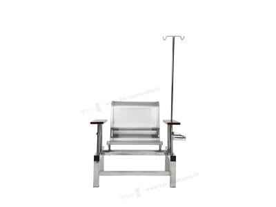 全不锈钢带网栏输液椅