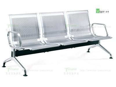凯旋不锈钢机场椅3座位