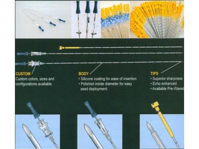 放射粒子植入针