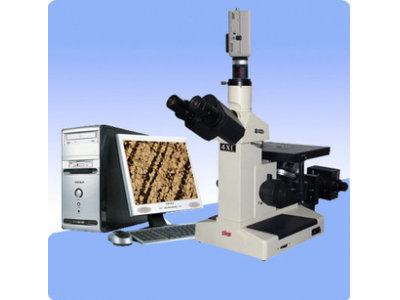定倍定标金相图像显微镜4XC-UV