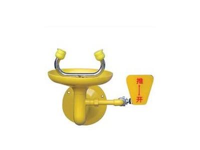 不锈钢接墙式紧急洗眼器0759C北京洗眼器