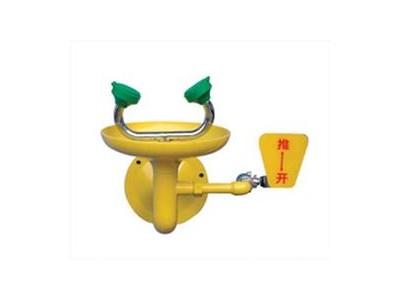 不锈钢接墙式紧急洗眼器0759B北京洗眼器