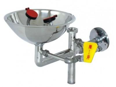 不锈钢接墙式紧急洗眼器0359C北京洗眼器