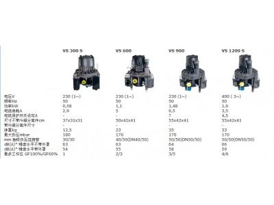 VS系列湿式抽吸系统