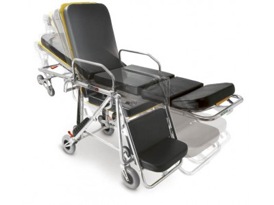 可变椅位上车担架(车载担架车)