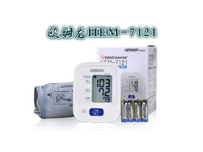 欧姆龙血压计HEM7121