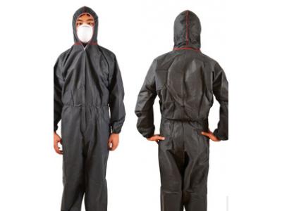 灰色PP连体防护服